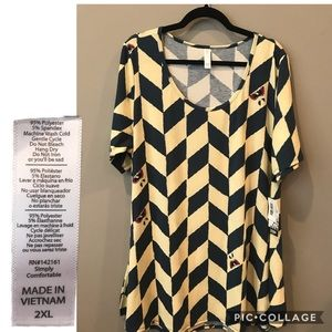 2XL LuLaRoe nightmare before Xmas perfect t BNWT
